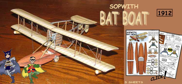 Sopwith Bat Boat model