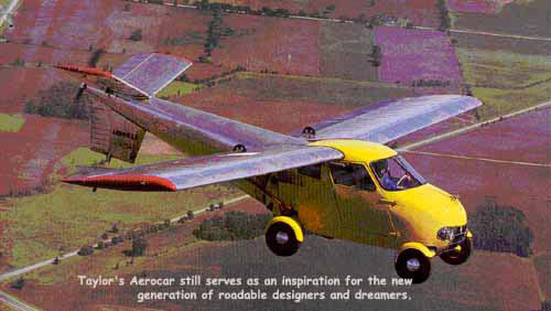 The Aerocar Flying Car