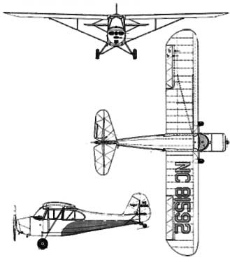 3 View of the Aeronca Champion