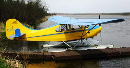 Aeronca-Champion-Floats