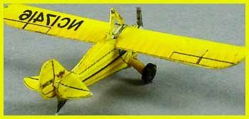 Aeronca-C3 Fiddlersgreen Modeling Madness 2010 winner
