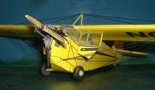 Aeronca C-2, C-3 Flying Bath Tub clear windows