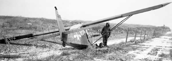 Aeronca L16 Grasshopper Crash