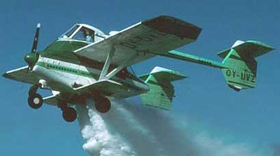 Transavia Airtruk spraying