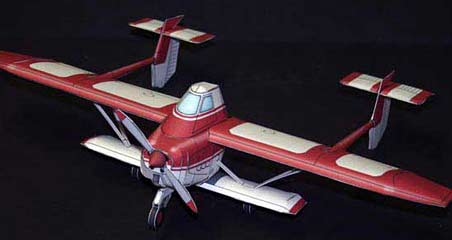 Transavia PL-12 Airtruk paper model