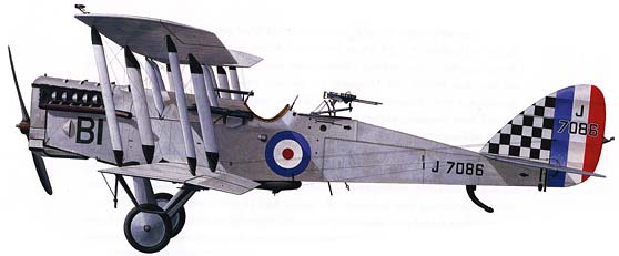Airco DH-4 Light Bomber