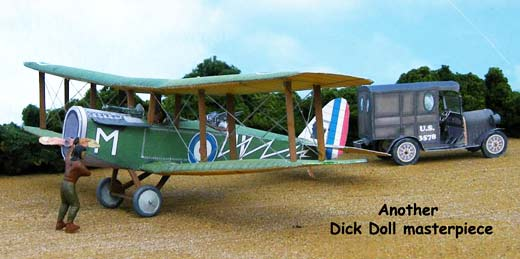 Airco De Havilland DH.4 paper model