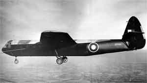 HORSA GLIDER-in tow