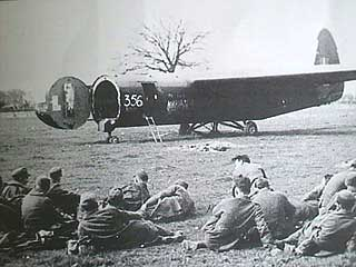 HORSA GLIDER-and Germans