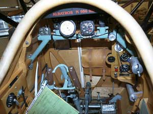 Cockpit of the Albatros DVa