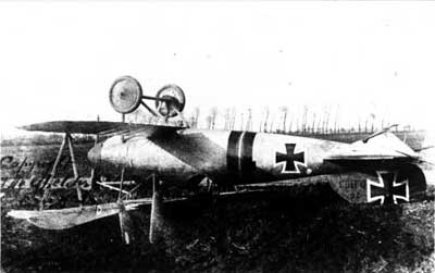Albatros DVa Crash
