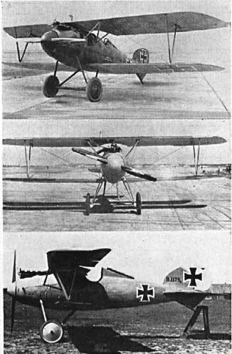 Albatros DVa-three photos