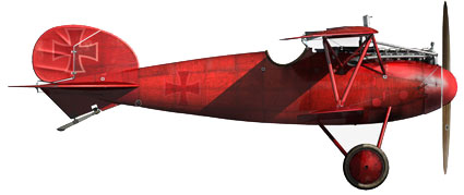 The Baron's  Albatros DIII