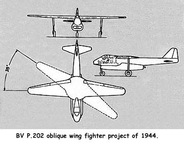 BV P.202 AD-1 Scissors Wing