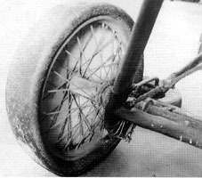Ansaldo SVA wheel