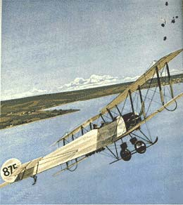 AVRO 504 Illustration