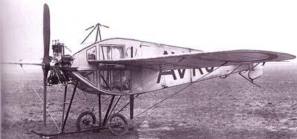 Avro F Monoplane