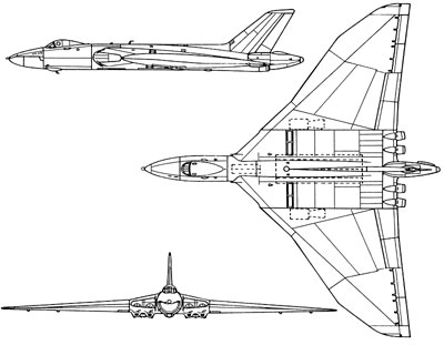3 View of an Avro Vulcan