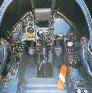 BAe Harrier Cockpit