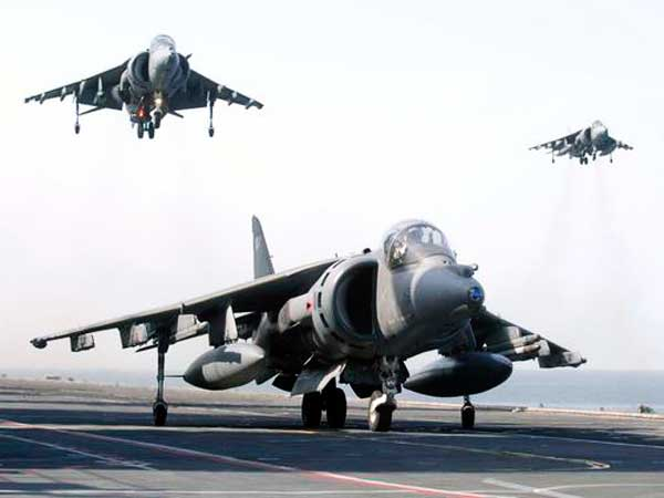 BAe Harrier Landing