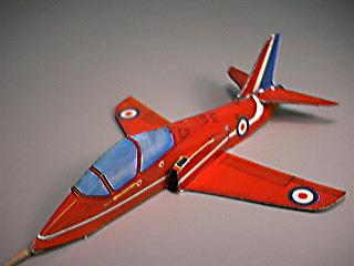 The Red Arrow's Aerobatic Team's BAe Hawk