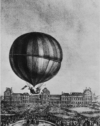 J.A.C. CHARLES & L.N.ROBERT Balloon-charles-sketch