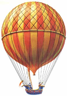 charles and robert brothers balloon helium french france