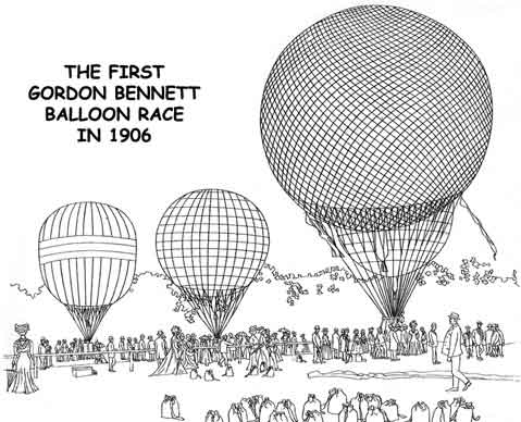 Gordon Bennett balloon Race
