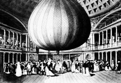 Lunardi's Ballon at the Patheon