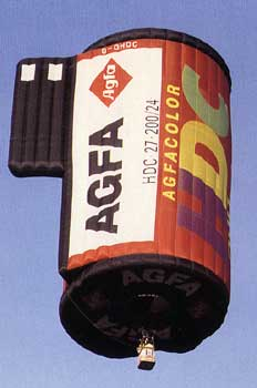 agfa hot air balloon