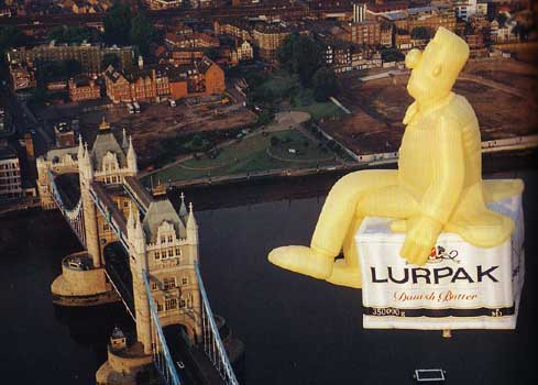 Lurpak hot air balloon