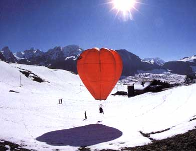 personal Hot air balloon