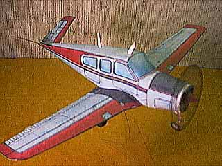 Paper model of the Beechcraft Model 35 Bonanza