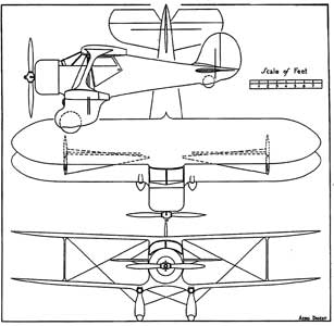 AeroDigest three view