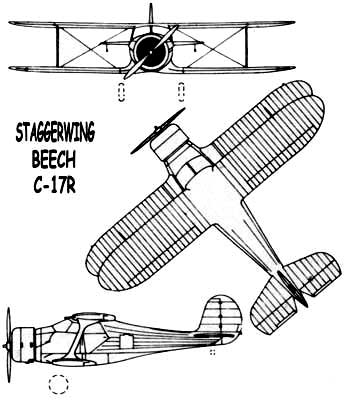 Staggerwing-3 view