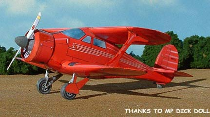 The Beech D-17 Staggerwing