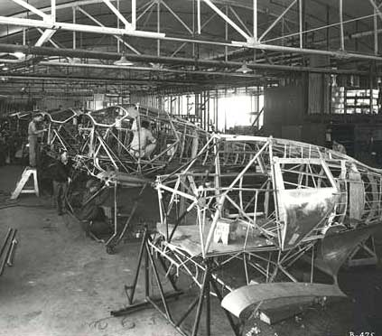 Staggerwing Assembly plant