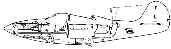 P-39 Cross section
