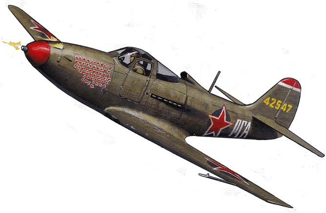 Bell P-39 Airacobra-Russian