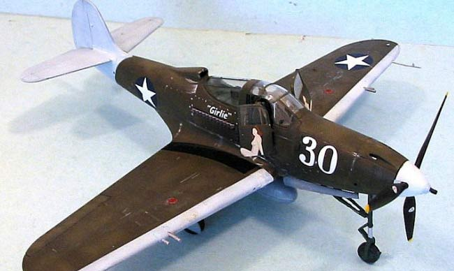 Bell P-39 Airacobra-Top view