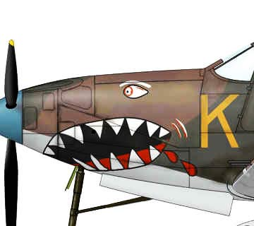 Bell P-39 Airacobra-Teeth