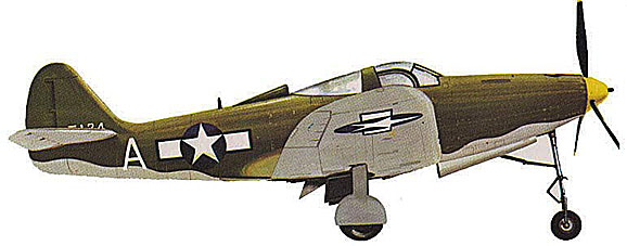 P-39 Airacobra side view