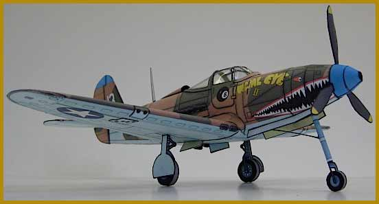 Bell P-39 Airacobra Fiddlersgreen Modeling Madness 2010 winner Wahl Eye