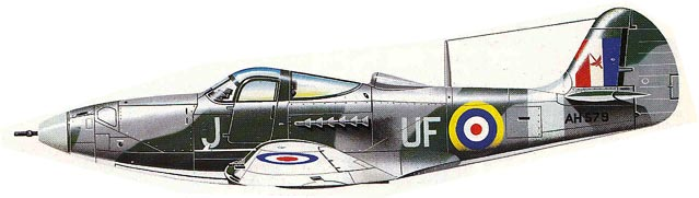 P-59 Bell Airacobra - RAF version