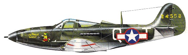 P-39 Bell Airacobra - Tunisia  version