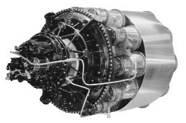 P-59 Bell Airacomet engine