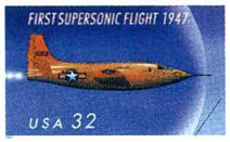 Bell X-1 stamp
