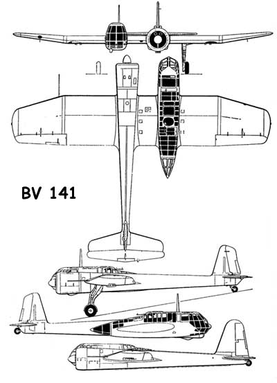 3 View of the BV 141