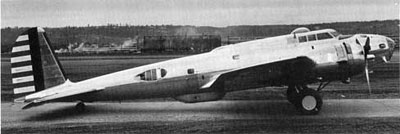 Boeing 299 Side View