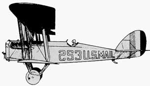 Boeing DH4 Mail Plane
